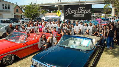 Ragtops Car Club Chicano Park 2014