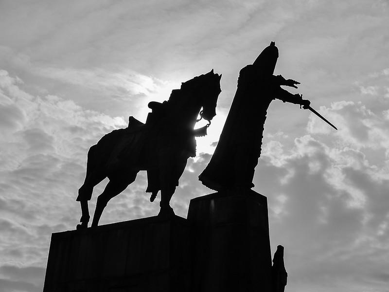 Statue of Grand Duke Gediminas