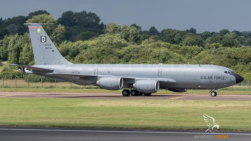 US Air Force 100ARW / Boeing KC-135R Stratotanker / 58-0100