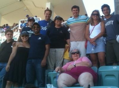 Los Angeles Dodgers vs. Angels Baseball Game - 6.25.11