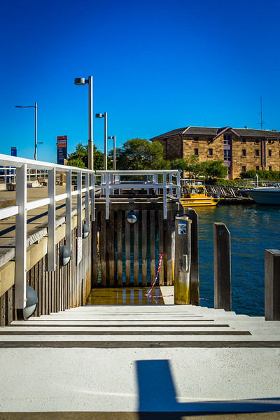 Millers Point : Moores Wharf