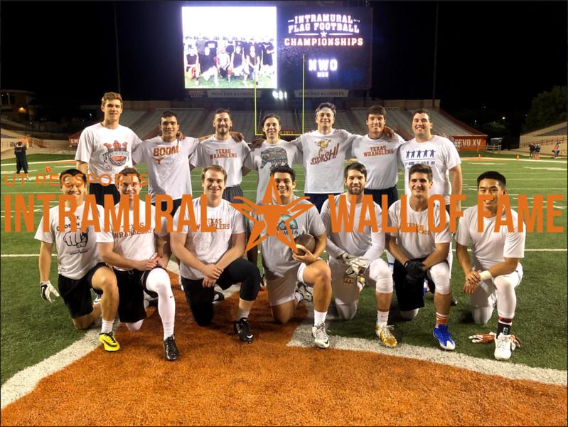 Spring 2018 Flag Football Men's A Champion Texas Wranglers