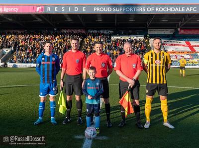 Rochdale vs Boston United 0-0 FA Cup Round 2