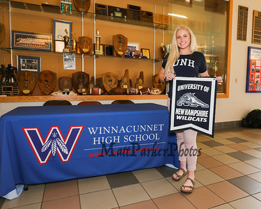 2019-4-19 WHS Nikki Tredwell Signing Day Field Hockey @ UNH