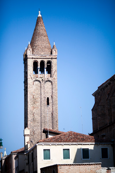 Campanile (bell tower), San Barnaba church, Venice, Italy