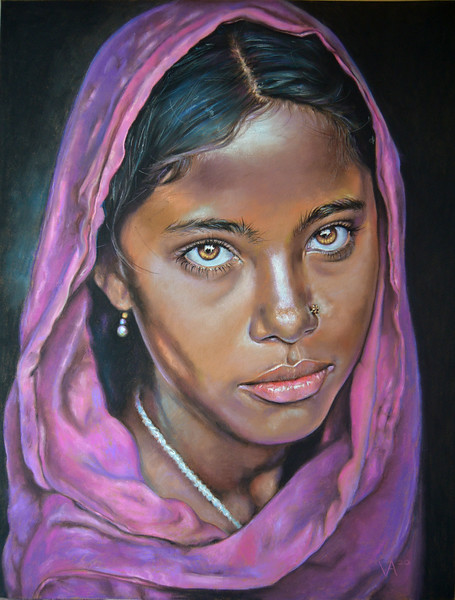 """Glance"" (pastel) by Limonina Victoria"