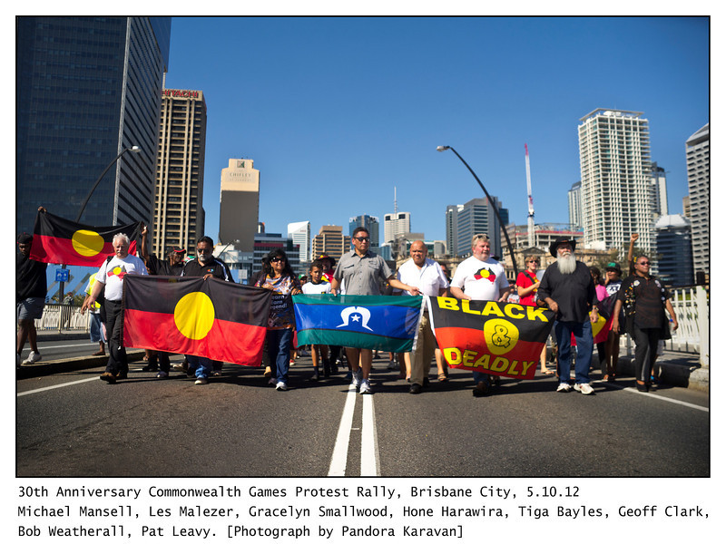 March for Aboriginal Sovereignty. Read about this event and see more pictures on my blog..
