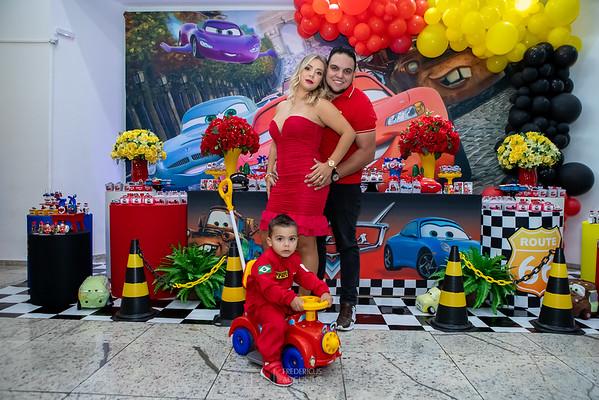 Festa do Cars no Espaço Algazarra Kids do Vini