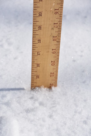 Kayla's 1st big Snow!!!