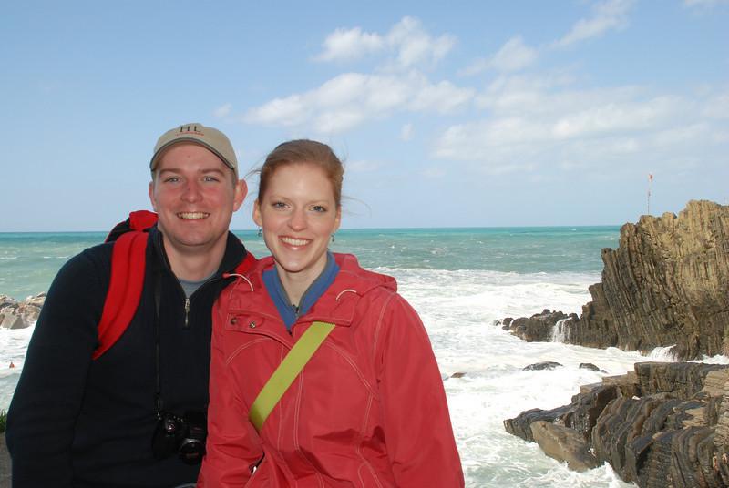 Scott and Joanna, Cinque Terre