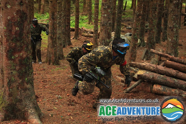 Woodland Paintball