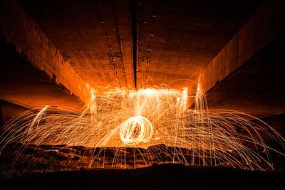 Sparks under the Bridges