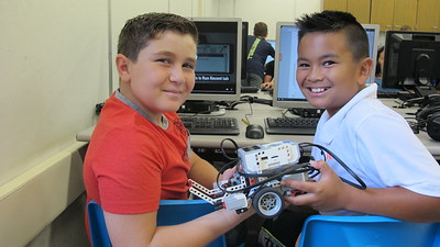 From Lego to Robots at PCR Program