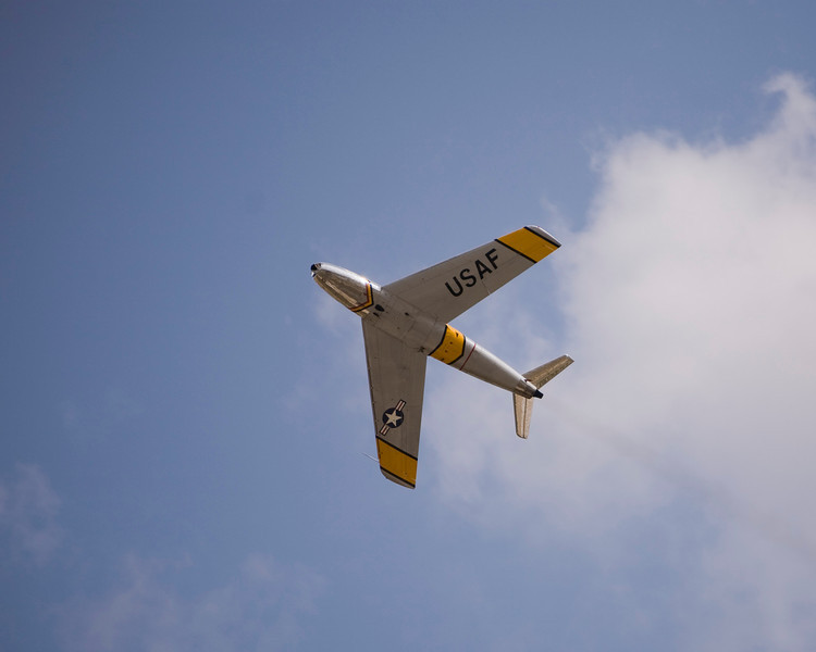 F-86 Sabre at EAA AirVenture 2009.