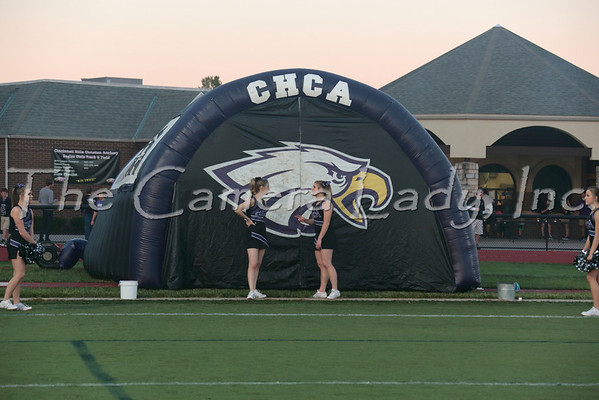 CHCA 2013 Var Cheerleaders vs Summit 09.27