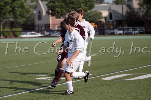 CHCA 2009 HS Boys JV Soccer vs Eagles 8.26