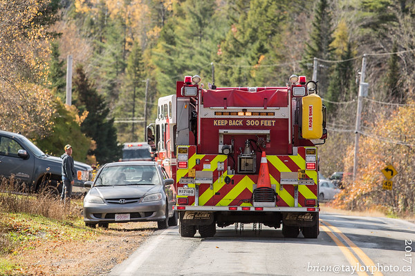 Structure Fire, South radon Rd. Oct 28, 2017