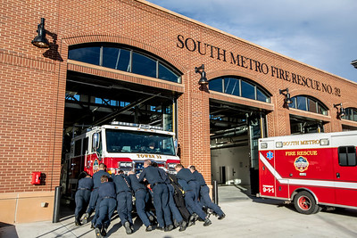 Firehouse 32 In Service Ceremony