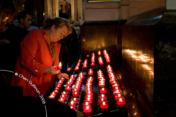Lighting of Candles...