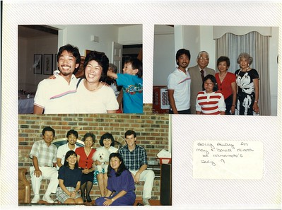 7-9-1988 May & David Mineta Going Away @ Hamamoto's