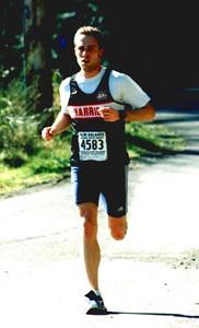 2002 Hatley Castle 8K - Good form and good effort from Rumon Carter