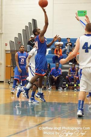 02-17-2012 Churchill HS vs Watkins Mill HS Varsity Boys Basketball, Photos by Jeffrey Vogt Photography