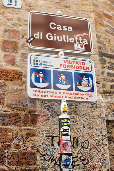 Casa de Julieta (filme Romeu e Julieta), Verona, Italia