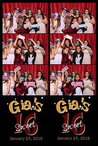 Gia's Sweet 16