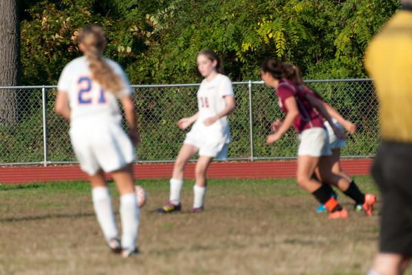 2012-10-05 Dayton Girls Varsity Soccer vs Roselle Park - Conf. Series #4 of 8