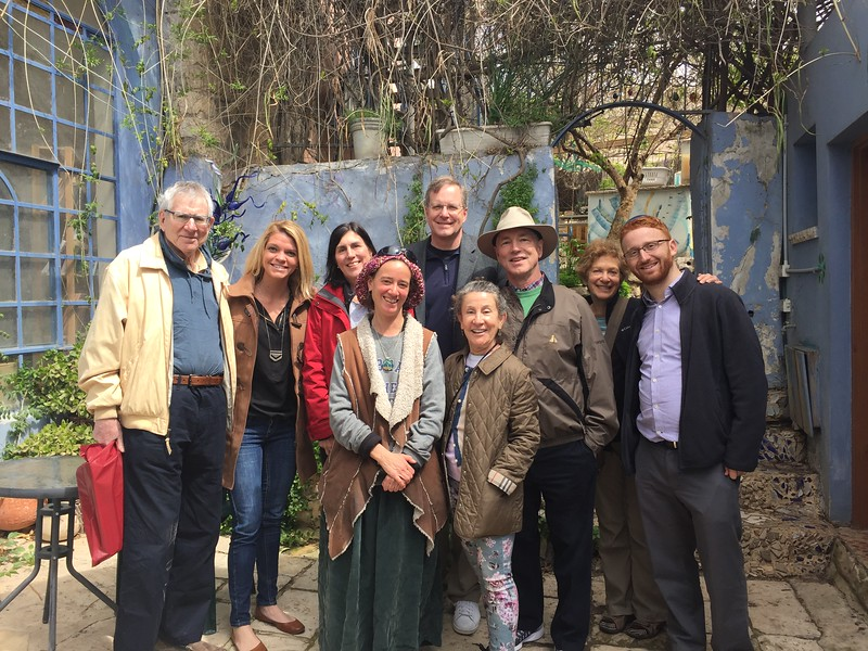 Group Photo with Sheva Chaya '97, at her studio - Bridget St. Clair