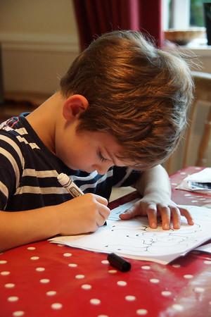 2014-09-20 Harry's first homework