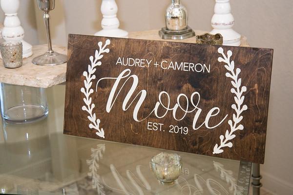 Cameron Audrey Pre Ceremony