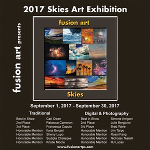 01.09.2017 - Skies Art Exhibition at the Fustion Art