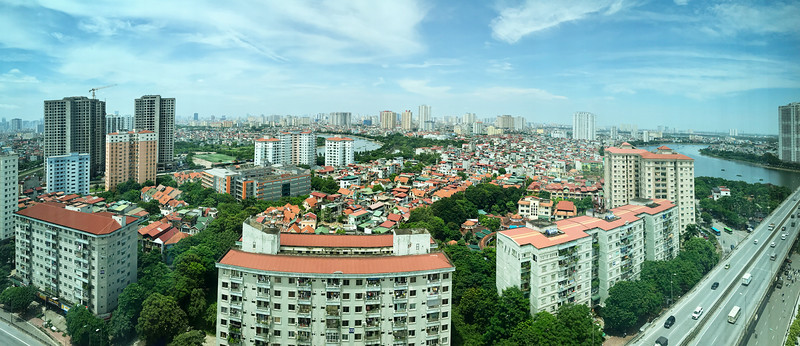 19th Floor View of Hanoi