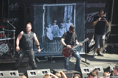 Ghosts of August @ Rock on the Range 2012