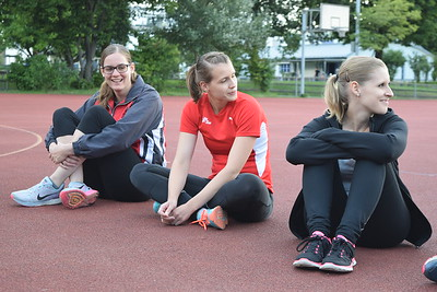 Zweites gemeinsames Training -  Leichtathletik