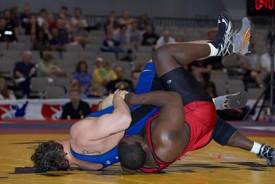Greco-Roman Championships120 Kg: Dremiel Byers (Army) def Russ Davie (New York Athletic Cl)