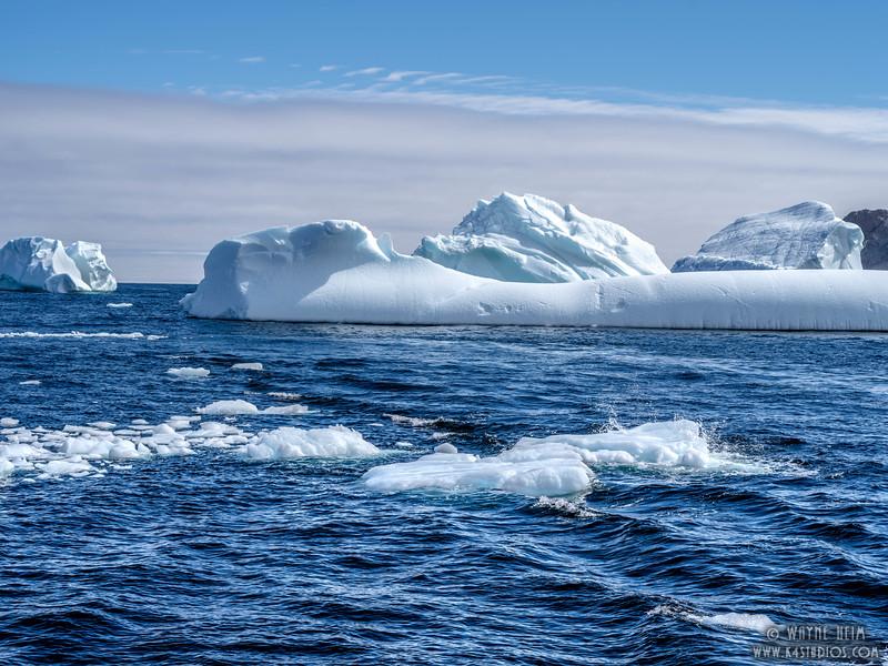 Icebergs 39   Photography by Wayne Heim