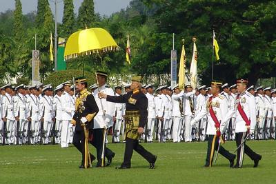 60. Geburtstag des Sultans von Brunei: Bandar