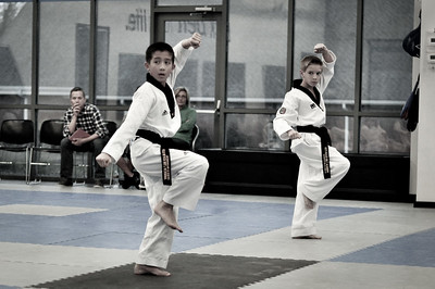 KOMA Black Belt Testing