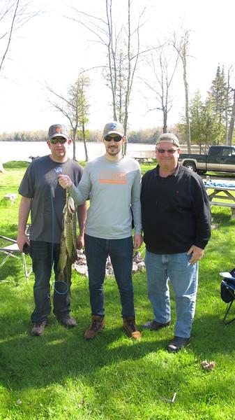 Fishing Trip 2015 in Curtis Michigan