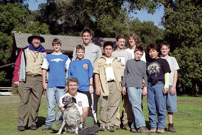 Troop 804 Sunol December 2002