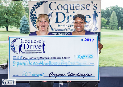 10th Annual Coquese's Drive for the Women's Resource Center - 8-18-2017