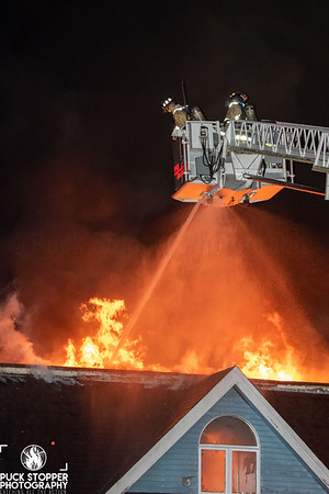 2 Alarm Vacant Strip Mall Fire - 51 Roses Mill Rd, Milford, CT - 9/15/20