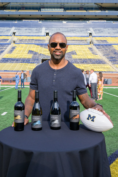 August 21, 2019 - Charles Woodson's Intercept Wines Launch Media Reception at Michigan Stadium