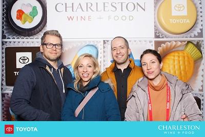 charleston wine + food chocolate wall - day 1