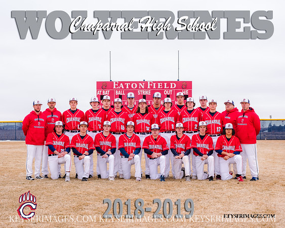2019 CHAPARRAL BASEBALL TEAMS