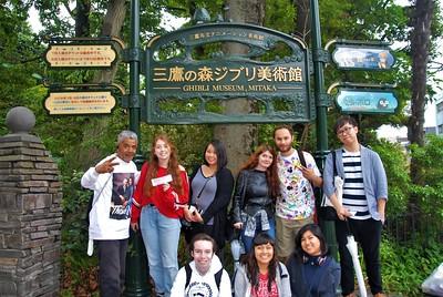 Ghibli Museum and Inokashira Park Mitaka, Japan June 16, 2018