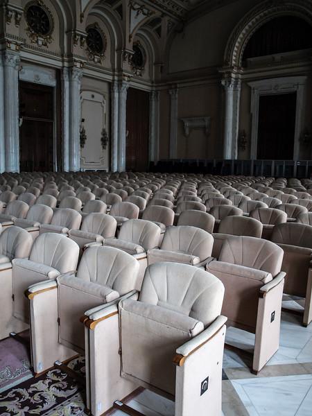Cinema in Ceaușescu's former palace