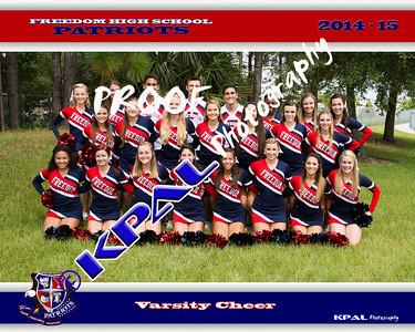 Freedom High Cheer Team Photos 2014